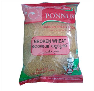 Ponnus Broken Wheat 500g