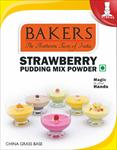 Bakers Strawberry Pudding Mix Powder 80g