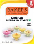 Bakers Mango Pudding Mix Powder 80g