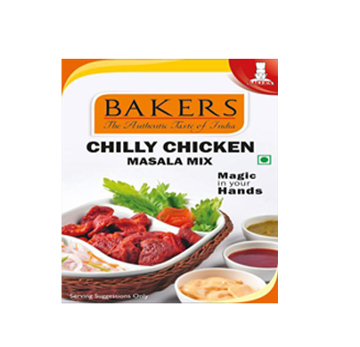 Bakers Chilly Chicken Snacks Mix 100g
