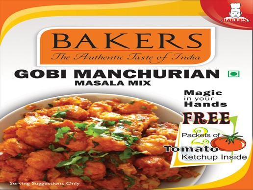 Bakers Gobi Manchurian Snacks Mix 125g