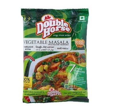 Double Horse Vegetable Masala 100g