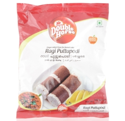 Double horse Ragi Puttupodi 500gm