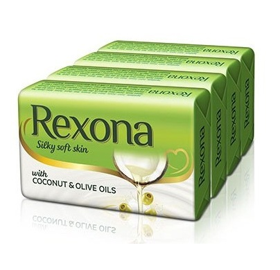 Rexona Silky Soft Skin 4x75g save Rs.10