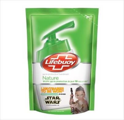 Lifebuoy Germ Protection Nature Handwash Refill 185ml
