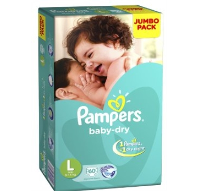pampers baby dry Diaper large jumbo