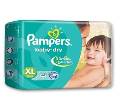 pampers baby dry Diaper XL