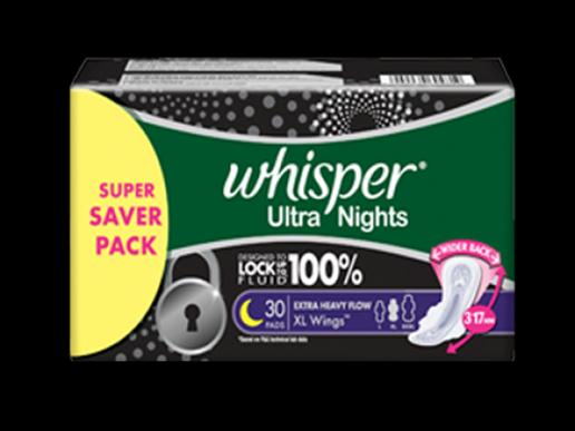 whisper ultra night XL
