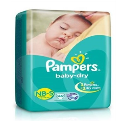 Pampers Baby dry Disposable diaper small newborn upto 8kg 11pcs