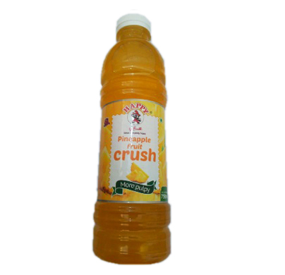 Happy Pineapple fruit crush 750ml