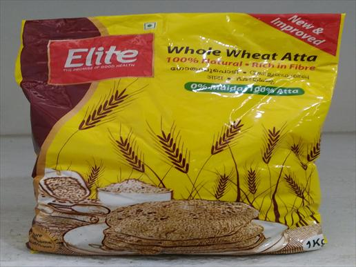 Elite whole wheat atta