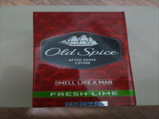 Old spice after shave lotion fresh lime150ml