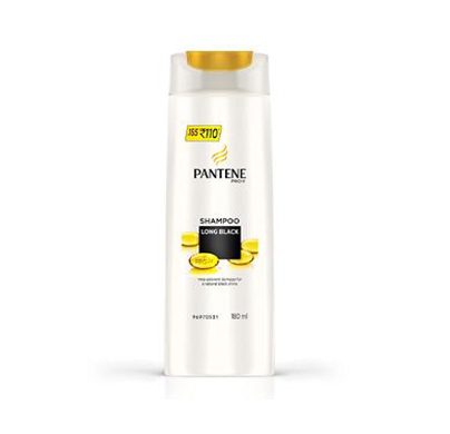 Pantene Shampoo Long Black 180ml