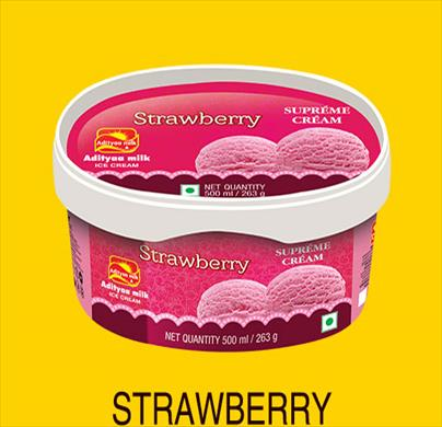 Adityaa Strawberry tub