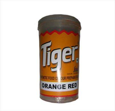 Tiger Orange Red Colour 10g