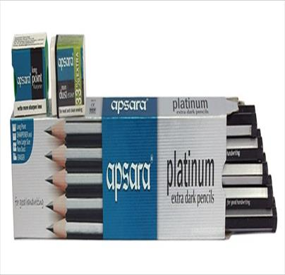 Apsara Platinum Dark Pencils