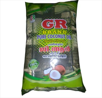 GR Pure Coconut Oil 1 Ltr