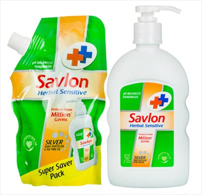 Savlon Double Strength Hand Wash With Refill Pack