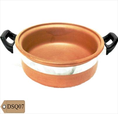 Red Clay Large Handi Without Lid 3 Ltr