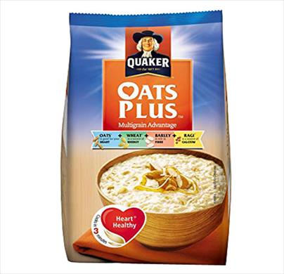 Quaker Oats Plus  300G (Multigrain)