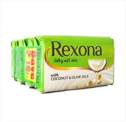 Rexona Silky Soft Skin 4x100g save Rs.13