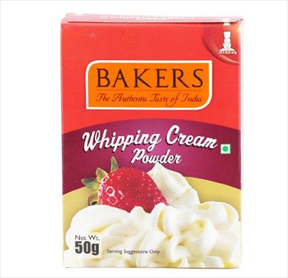 Bakers Whipping Cream Powder 50g