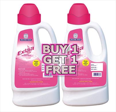 Exlaa Washing Liquid (Buy 1 Get 1 Free )