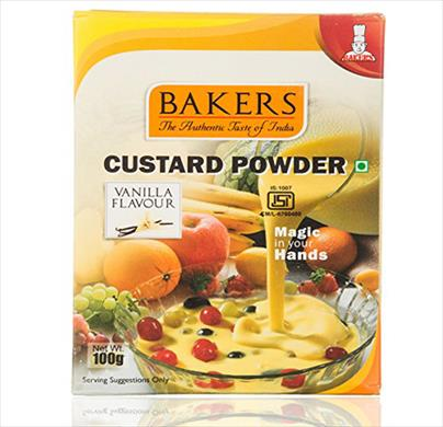 Bakers Custard Powder 100g