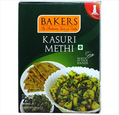 Bakers Kasuri Methi 25g