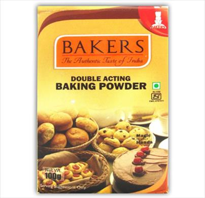 Bakers Double Acting Baking Powder