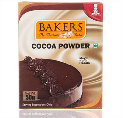 Bakers Cocoa Powder 50g