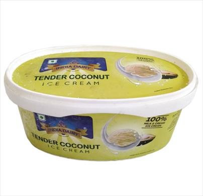India Dairy Tender Coconut Ice Cream 1 Ltr