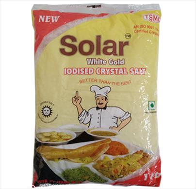 Solar Iodized Crystal Salt 1 kg