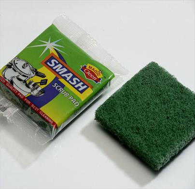 Green Scrubber Pad