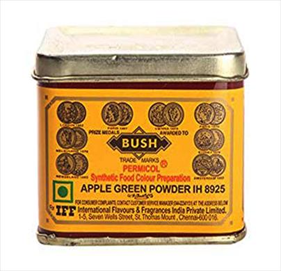 Bush Green Colour 100g