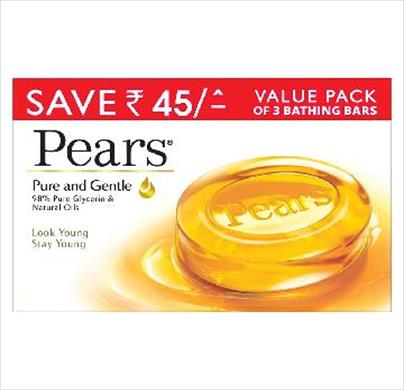 Pears Pure & Gentle Bath 3 in 1(Save Rs.45)