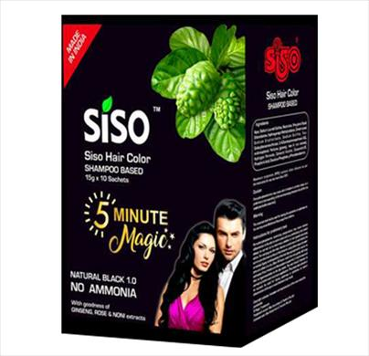 Siso Hair Color Shampoo