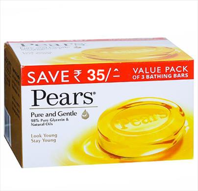 Pears Pure & Gentle Bath 3 in 1(Save Rs.35)